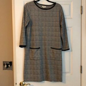 Plaid dress by Max Studio.  Sz L